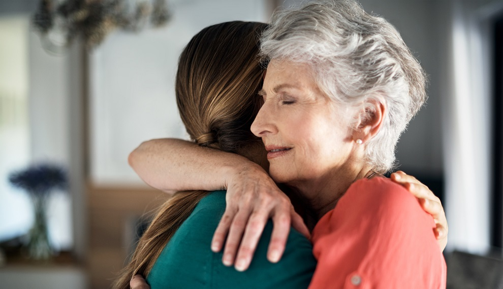 Caregiver and loved one